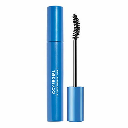 COVERGIRL Professional Natural Lash Waterproof Mascara, 225 Very (Best Drugstore Smudge Proof Mascara)
