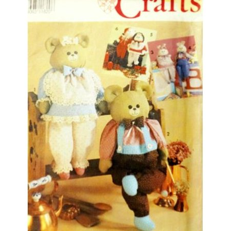 Simplicity 7548 or 606 Dress Animals or Dolls with Wood Block Body 24 Tall Sewing Pattern