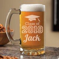 Personalized Graduation Class of 2019 Beer Mug