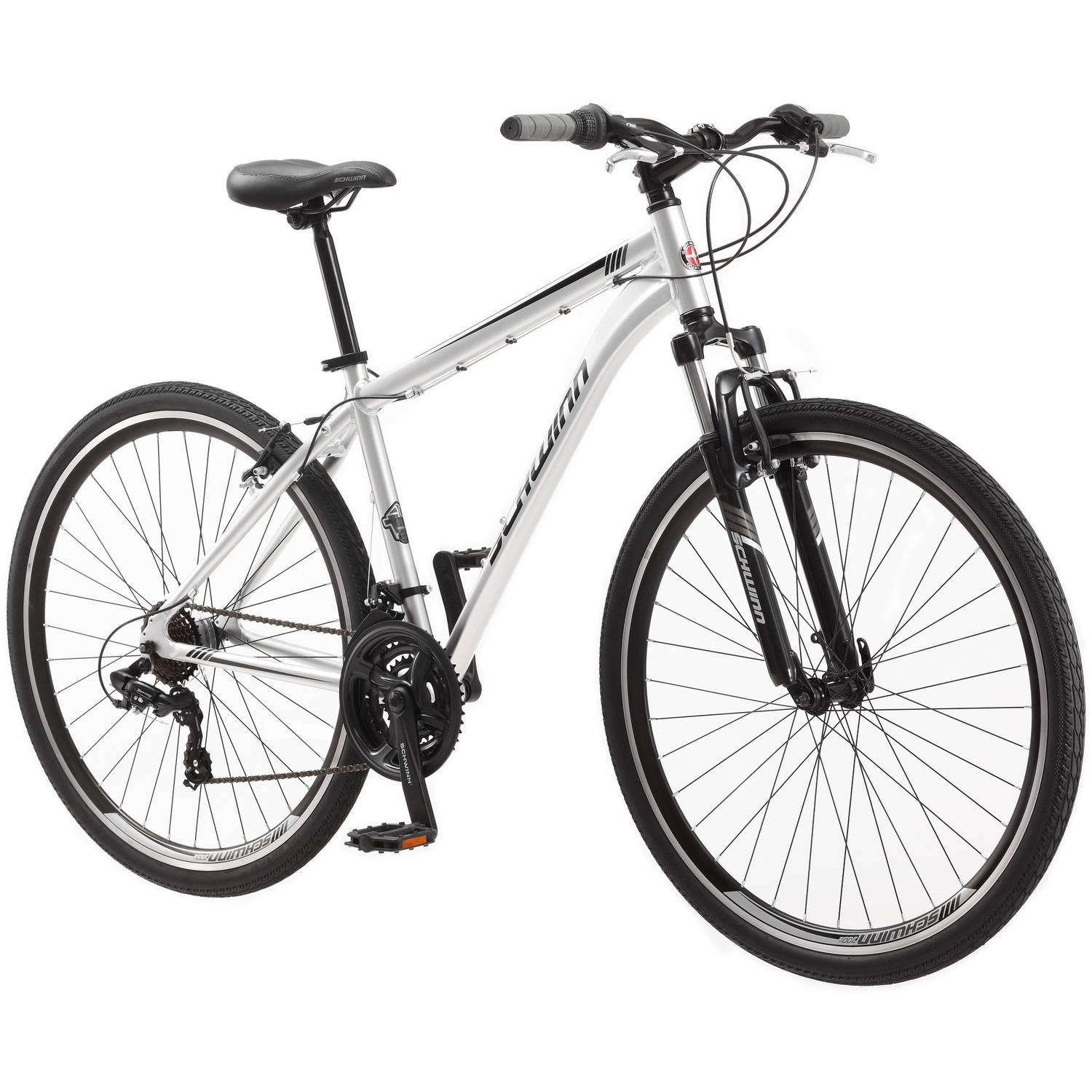 700c Schwinn Connection Men's Multi-Use Bike by Pacific Cycle