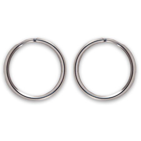 1.25' Split Key Ring (Country Brook Design® 1 1/4 Inch Split Ring Key Chain Rings)