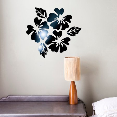 Modern Mirror Style Removable Decal Art Mural Wall Sticker Home Room DIY BK