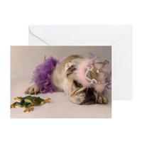 CafePress - Princess And The Frog - Greeting Card, Blank Inside Glossy