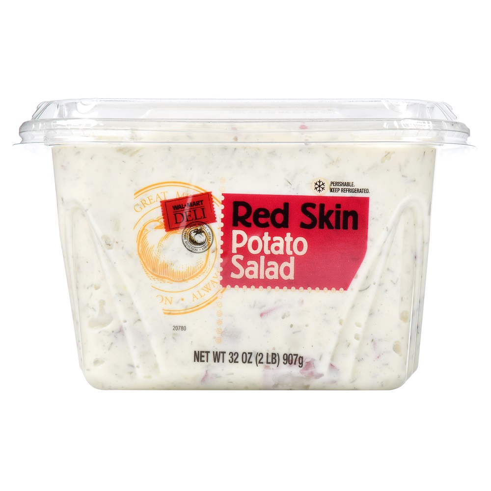Walmart Deli Red Skin Potato Salad, 32 oz