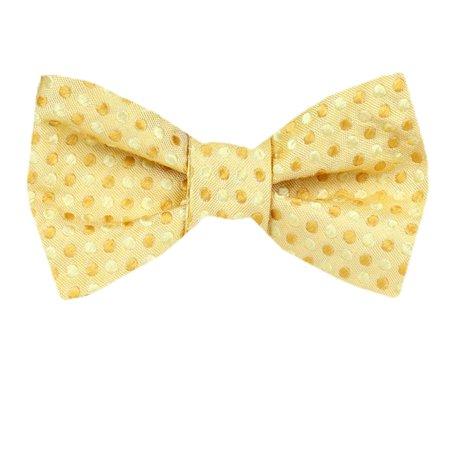 Mens Silk Pattern Dot Paisley Designer Self Tie Bow Tie