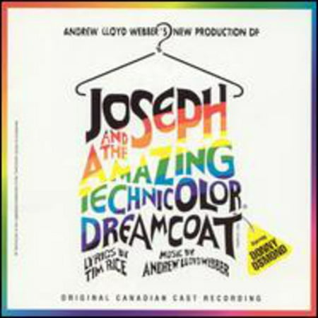 Joseph And The Amazing Technicolor Dreamcoat Soundtrack (Original Canadian Cast Recording) (CD)