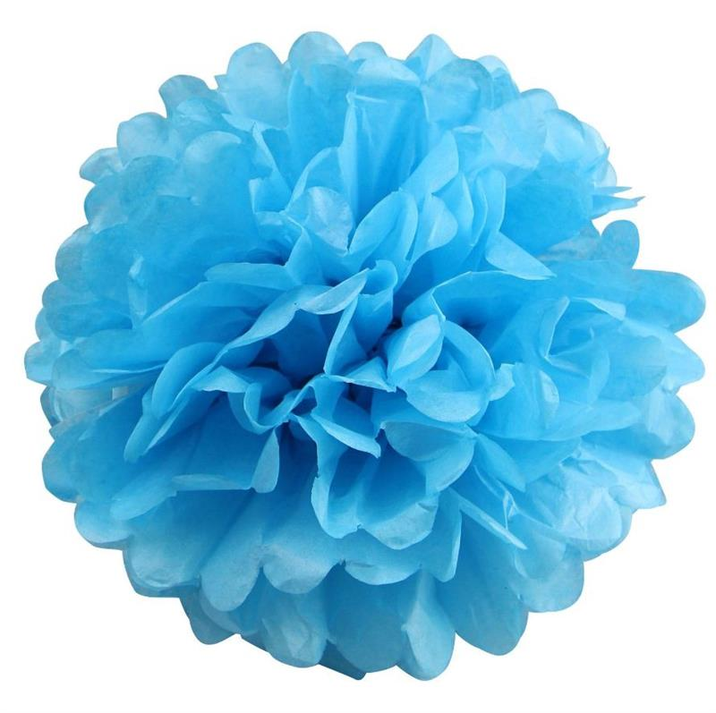 "BalsaCircle 12 pcs 12"" Paper Pom-Poms - Wedding Bridal Event Birthday Party Decorations Supplies"