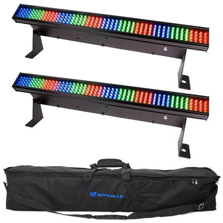 2 chauvet colorstrip mini led multi colored dj light bar effect 2 chauvet colorstrip mini led multi colored dj light bar effect color stripsbag aloadofball Choice Image