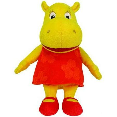 TY Beanie Baby - TASHA the Hippo (Nick Jr. - The Backyardigans) (6.5 inch) Rare! - Backyardigans Tasha Halloween Costume