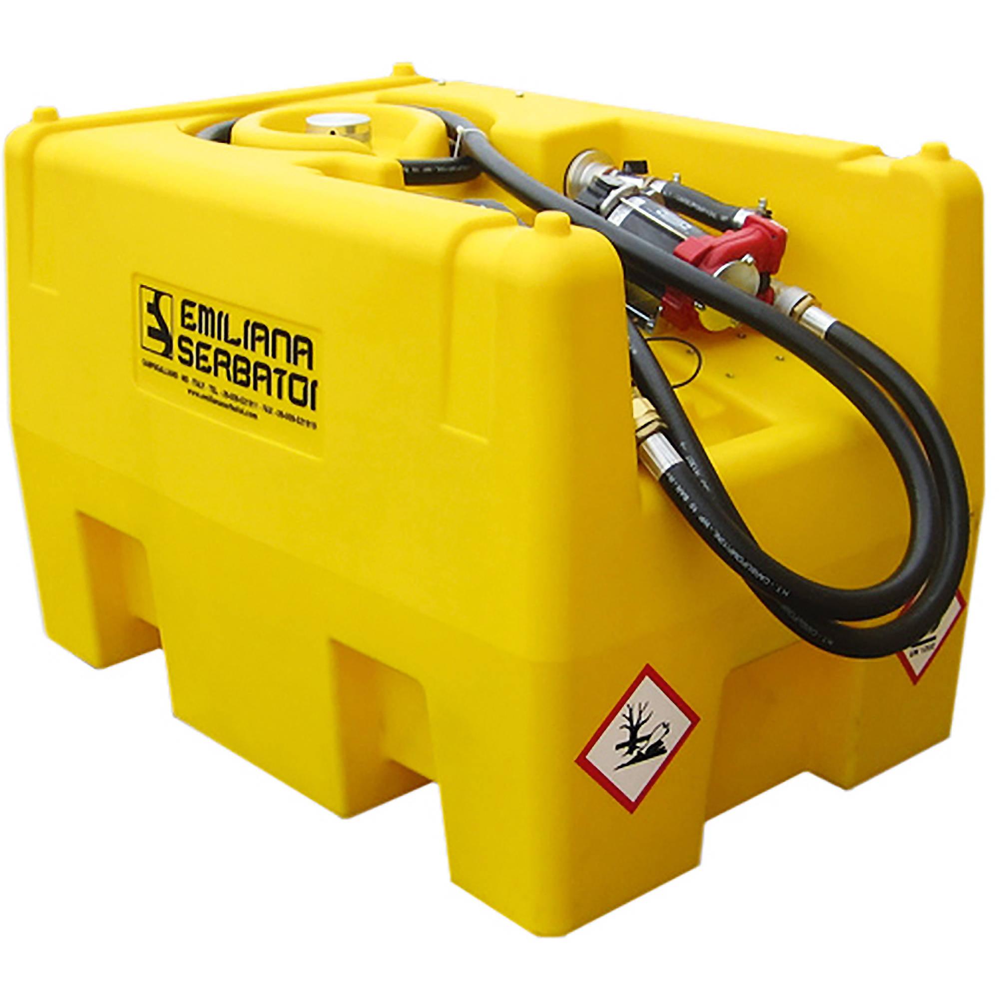 Emiliana Serbatoi Portable Diesel Tank, 58-gallons