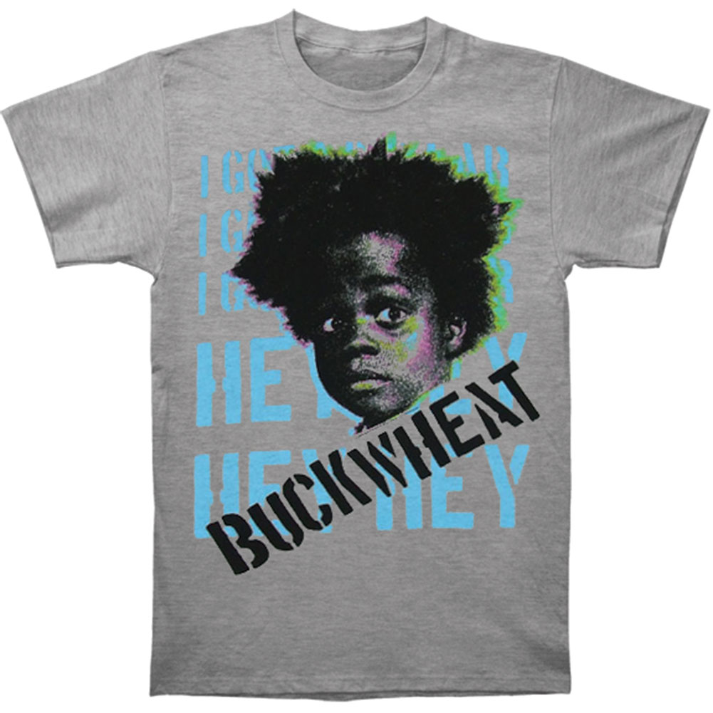 Buckwheat Men's  Slim Fit T-shirt Grey