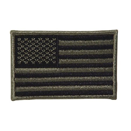 National Guard Acu Patch Foliage - Voodoo Tactical 20-908776000 Foliage Embroidered USA Flag Facing Left Patch