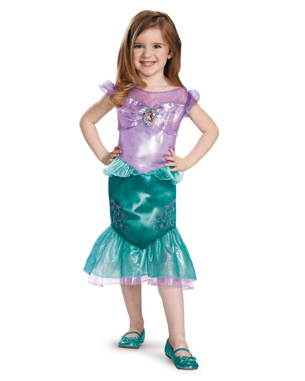 Ariel The Little Mermaid Disney Toddler Classic Toddlers Costume ...