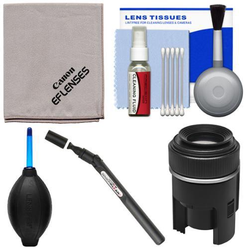 Canon Optical Lens & DSLR Camera Cleaning Kit with Brush, Microfiber Cloth, Fluid & Tissue + Blower + Lenspen Sensor Cleaning Kit for EOS 6D, 70D, 7D, 5DS, 5D Mark II III Rebel T5, T5i, T6i, T6s, SL1