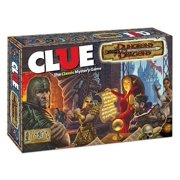 Clue - Dungeons & Dragons (2nd Edition) Lightly Used