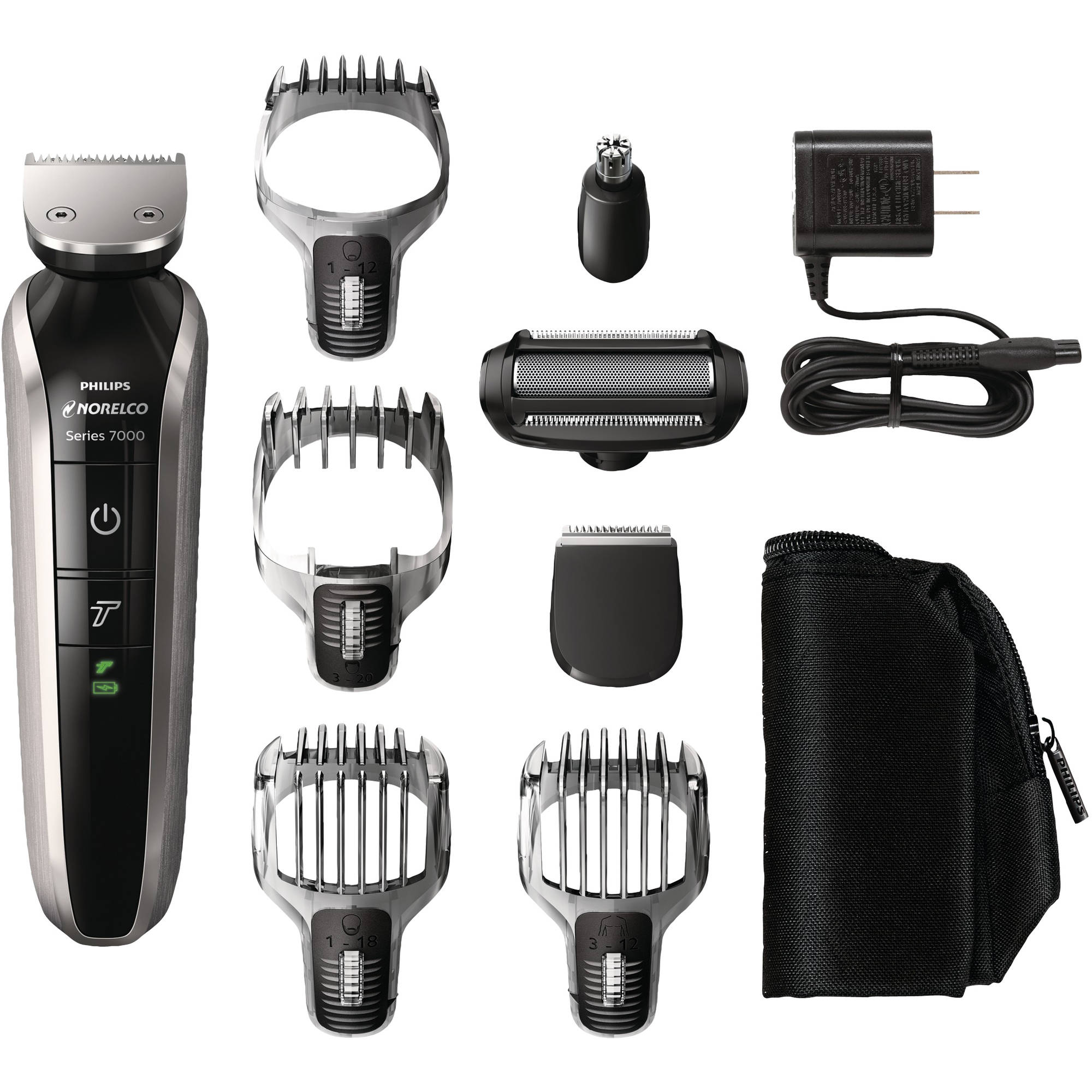 Philips Norelco Multigroom 7100 Electric Shaver (Model # QG3390/49)