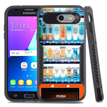 Dual-Layer Case for Samsung Galaxy J3 Luna Pro 4G LTE / J3 Eclipse / J3  Emerge / J3 Prime, OneToughShield ® Hybrid shockproof Protector Phone Case