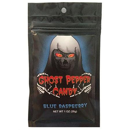 Blue Raspberry Ghost Pepper Candy