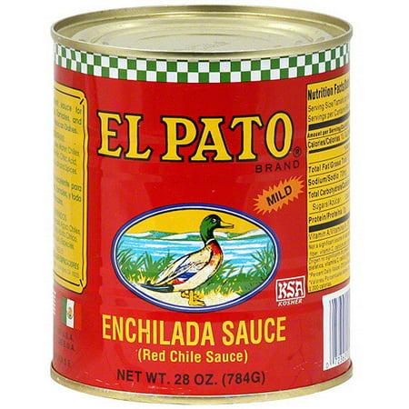 El Pato Enchilada Sauce, 28 oz (Pack of 12)