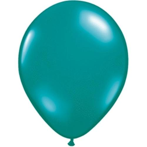 Mayflower 6572 9 Inch Jewel Teal Latex Balloons Pack Of 100