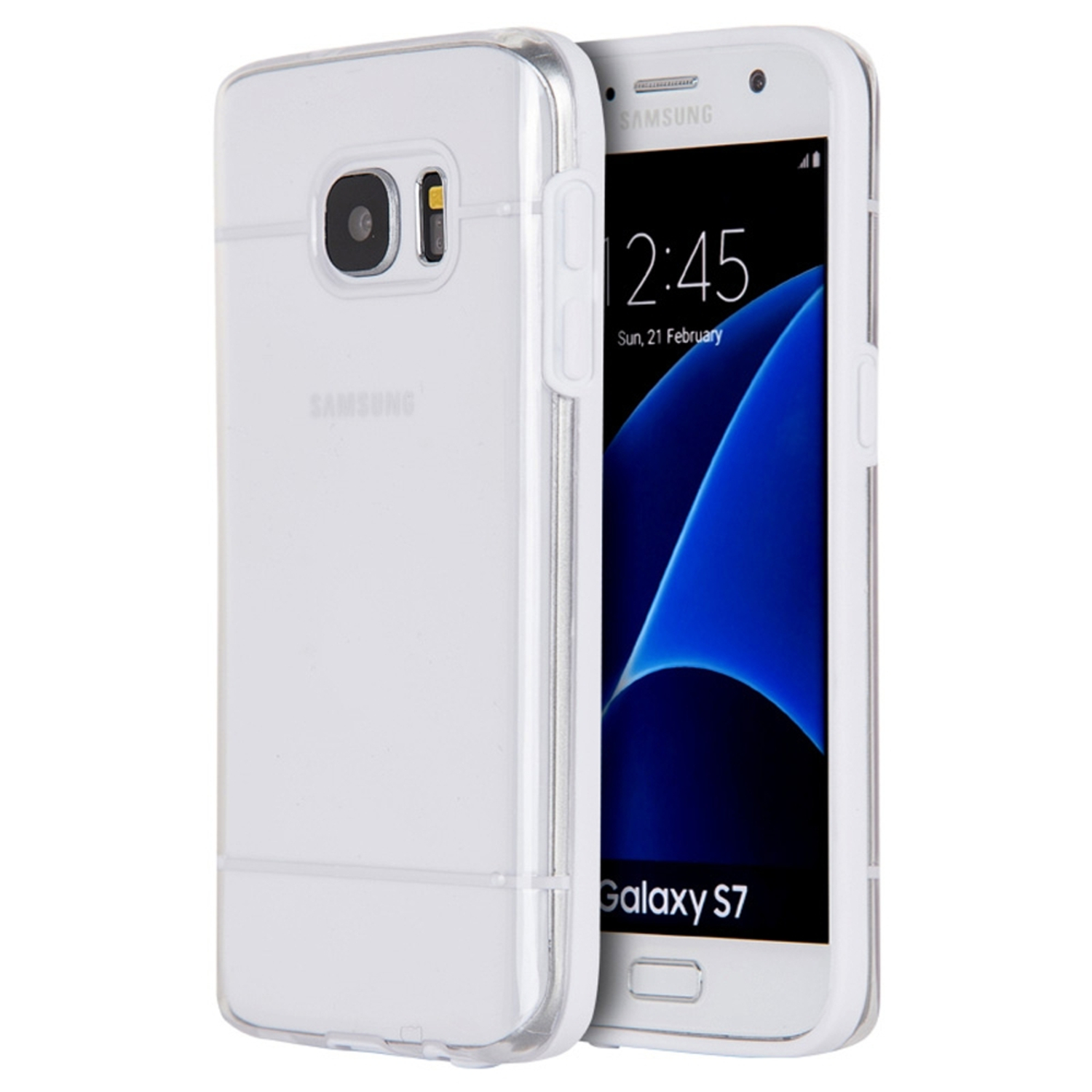 Samsung Galaxy S7 Case, by Insten TPU Rubber Candy Skin Case Cover For Samsung Galaxy S7