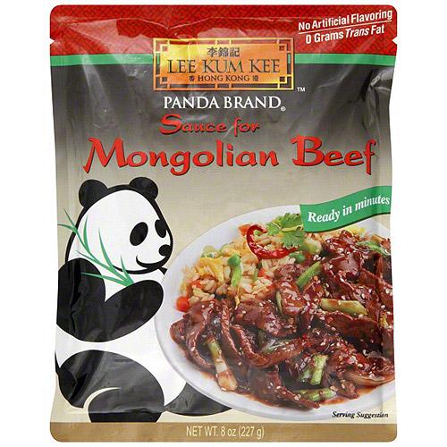 Lee Kum Lee Mongolian BBQ Stir Fry Sauce, 8 oz (Pack of 6)