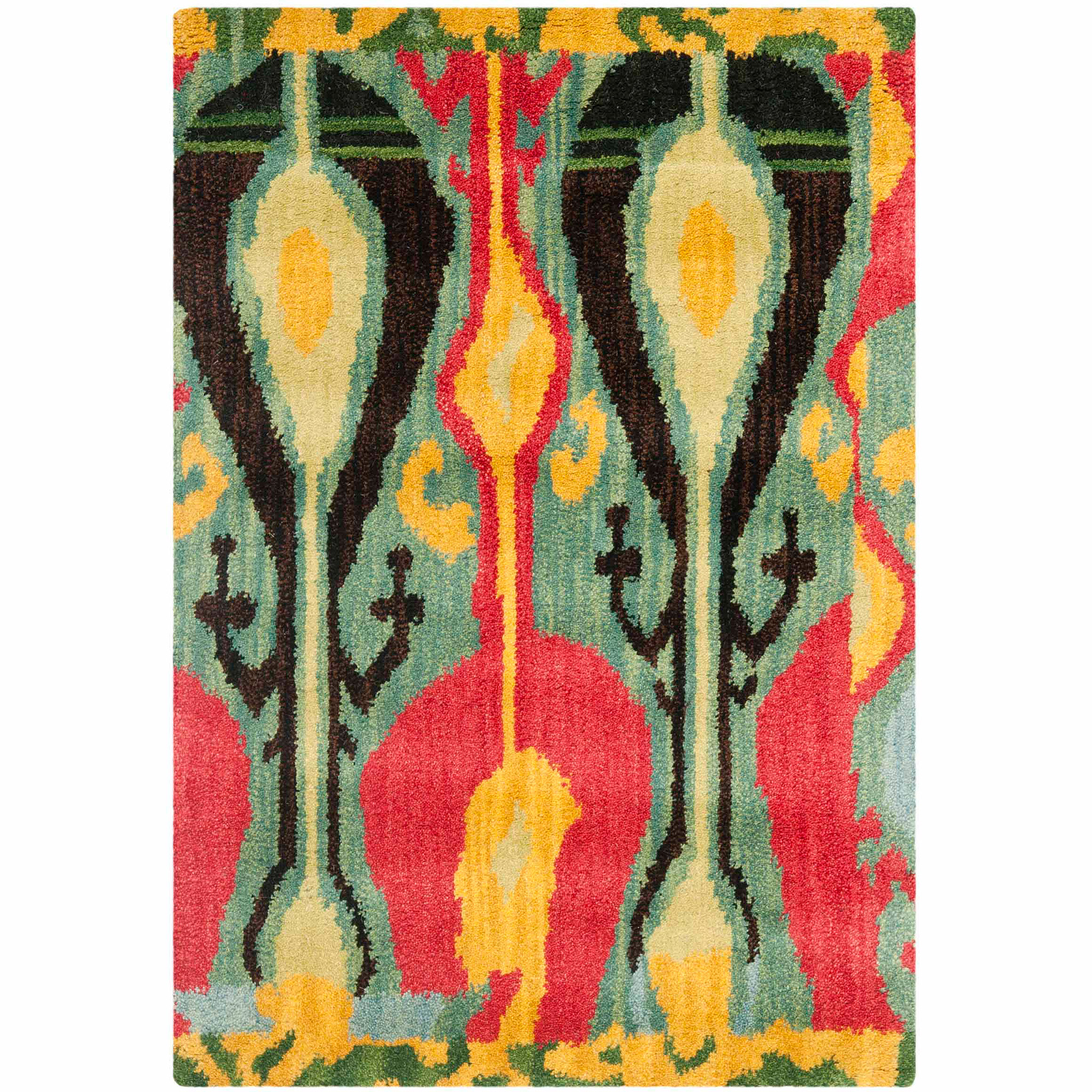 Safavieh Ikat Betty Hand-Tufted Wool Area Rug