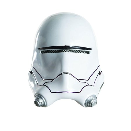 Flametrooper Half Mask Helmet Child Halloween Accessory - Half Scary Half Normal Halloween Makeup