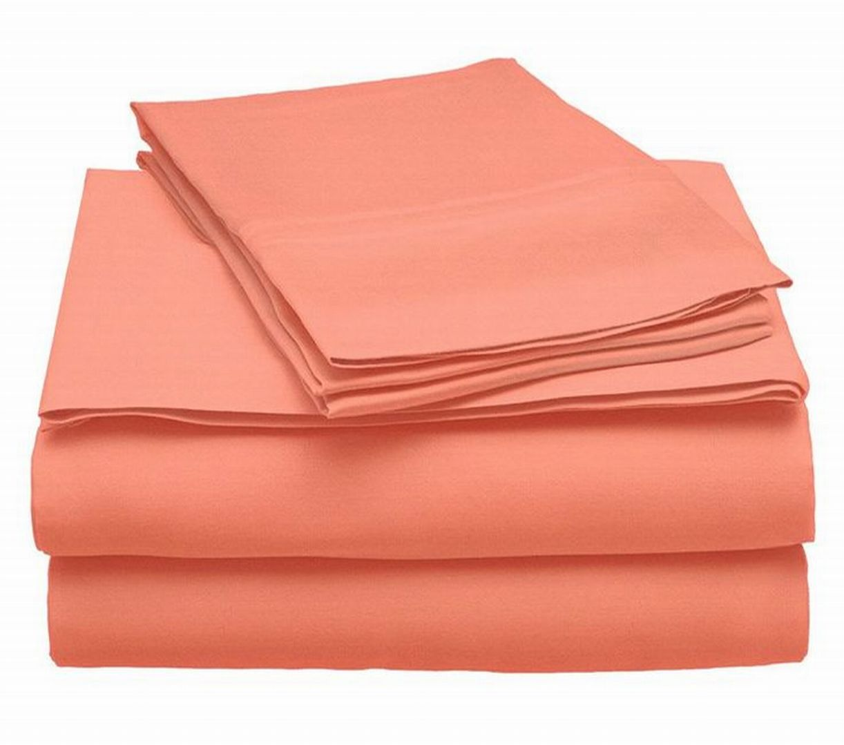 Room Essentials Sheet Set Pretty Peach Full Bed Sheets Easy Care Bedding