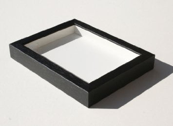 Shadowbox Gallery Wood Frames Black, 14 x 18 by The Simple Things