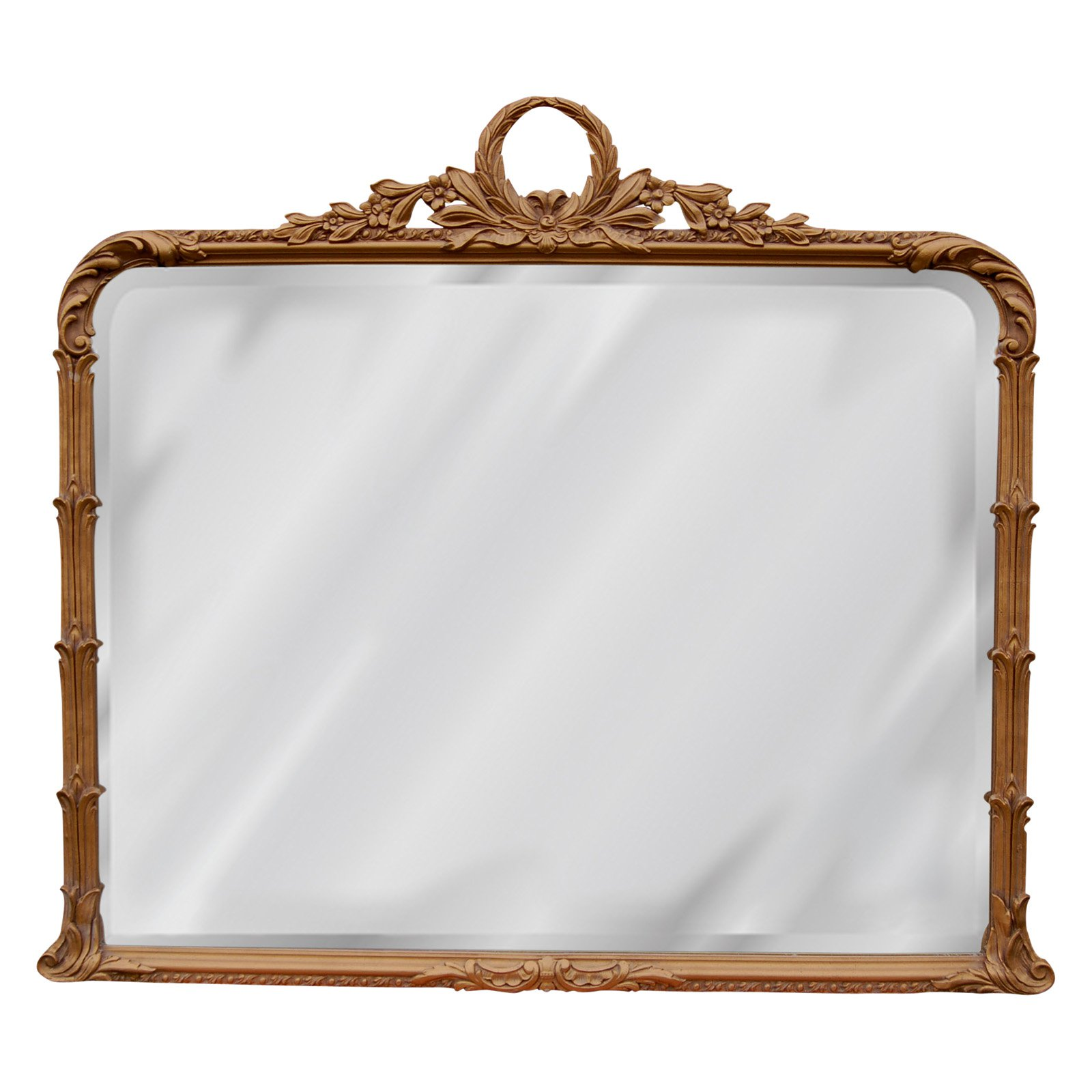 Hickory Manor House Classical Arch Buffet Mirror - 32.5W x 37.25H in.