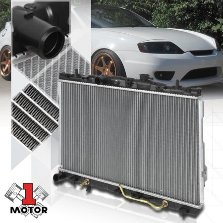 Aluminum Radiator OE Replacement for 01-06 Elantra/03-08 Tiburon 2.0L 2.7L AT 02 03 04 05 06 (01 Hyundai Tiburon Radiator)