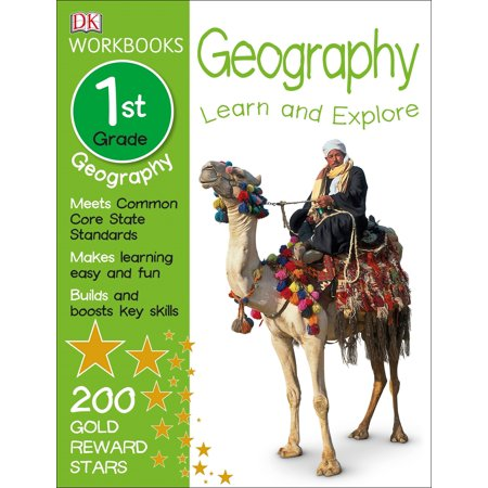 DK Workbooks: Geography, First Grade : Learn and - Halloween Crafts For 1st Grade Easy