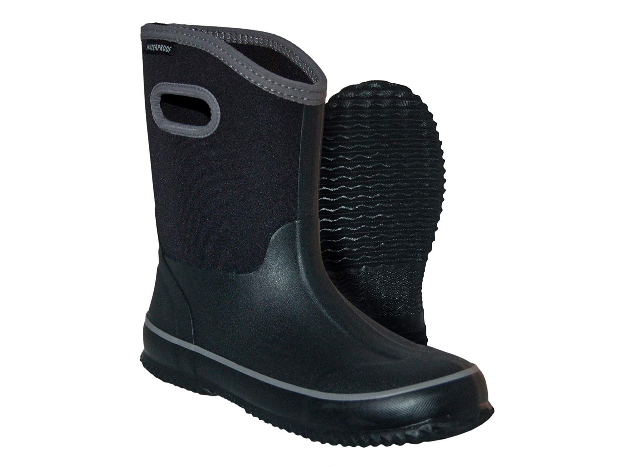 Itasca Kids' Youth Bayou Rubber Neoprene Waterproof Rain Boot by Itasca