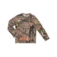 Mossy Oak Boys Scent Control Long Sleeve Tee Shirt