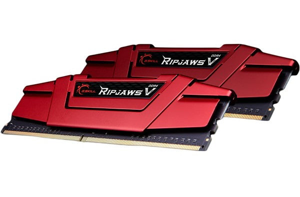 16GB G.Skill DDR4 PC4-24000 3000MHz Ripjaws V Red CL14 Dual Channel kit (2x8GB) 1.35V
