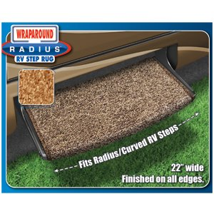 Prest-O-Fit 2-0202 Wraparound (R) Radius (TM) Entry Step Rug - image 1 de 2