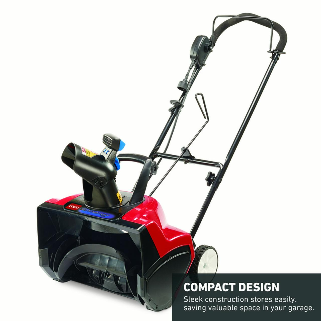 Toro Power Curve 18 In W Single Stage Corded Electric Start