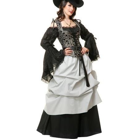 Adult's Womens Grey And Black Marie Antoinette Dress Costume](Antoinette Costume)