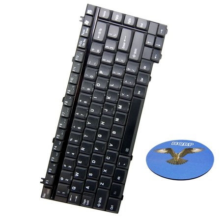 HQRP Replacement Laptop / Notebook Keyboard for K000044100 Toshiba Satellite A130 / A135 / A120 Series plus HQRP (A130 Series)