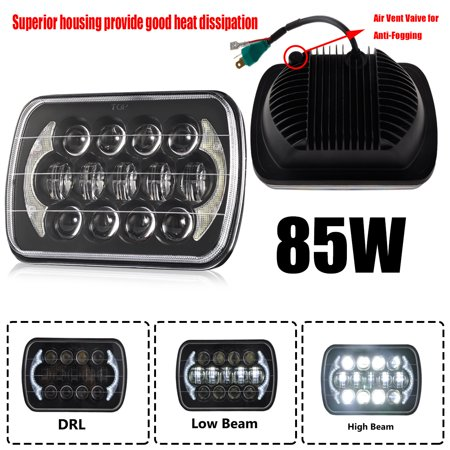"7X6"" LED Light Bulbs Clear Sealed Beam lamp light For Jeep Cherokee XJ"
