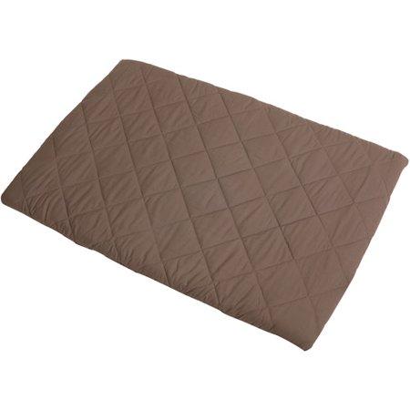 Graco Playard Pack 'N Play Sheet, Quilted, Brown