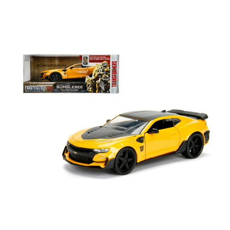 Java Metal Cover - JADA 1:24 W/B - METALS - TRANSFORMERS - BUMBLEBEE - 2016 CHEVROLET CAMARO 98399