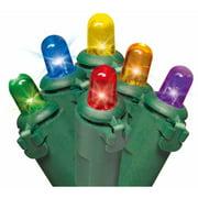 Holiday Time Christmas Lights Multi-Color LED Dome Lights, 1000-Count