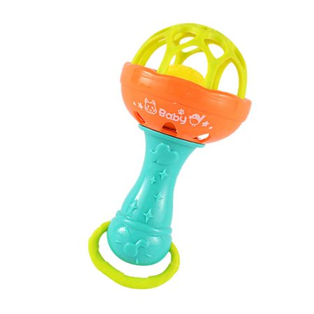 JOYFEEL Clearance 2019 Baby Rattle Toys Little Loud Bell Ball Toy Newborn Grasping Toy Handbells Ring Handle Toys Random Color Best Toy Gifts for Children (Best Basement Colors 2019)