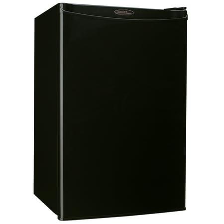 Danby Designer 4.4 Cu Ft Mini Fridge DAR044A4BDD-3, Black