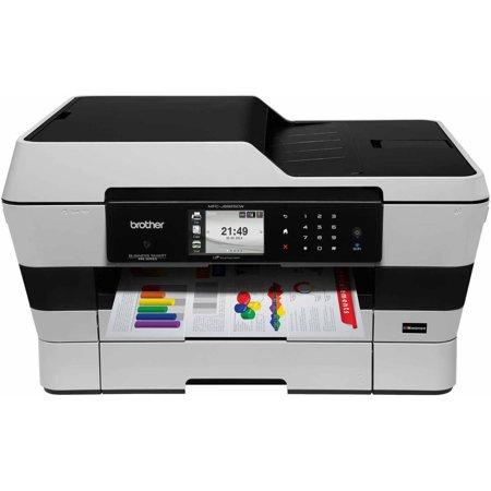 Brother MFC-J6925DW Color Inkjet Printer Copier Scanner Fax Machine by
