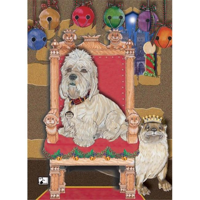 Pipsqueak Productions C501 Holiday Boxed Cards- Dandie Dinmont