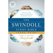 The Swindoll Study Bible NLT, Large Print (Hardcover)