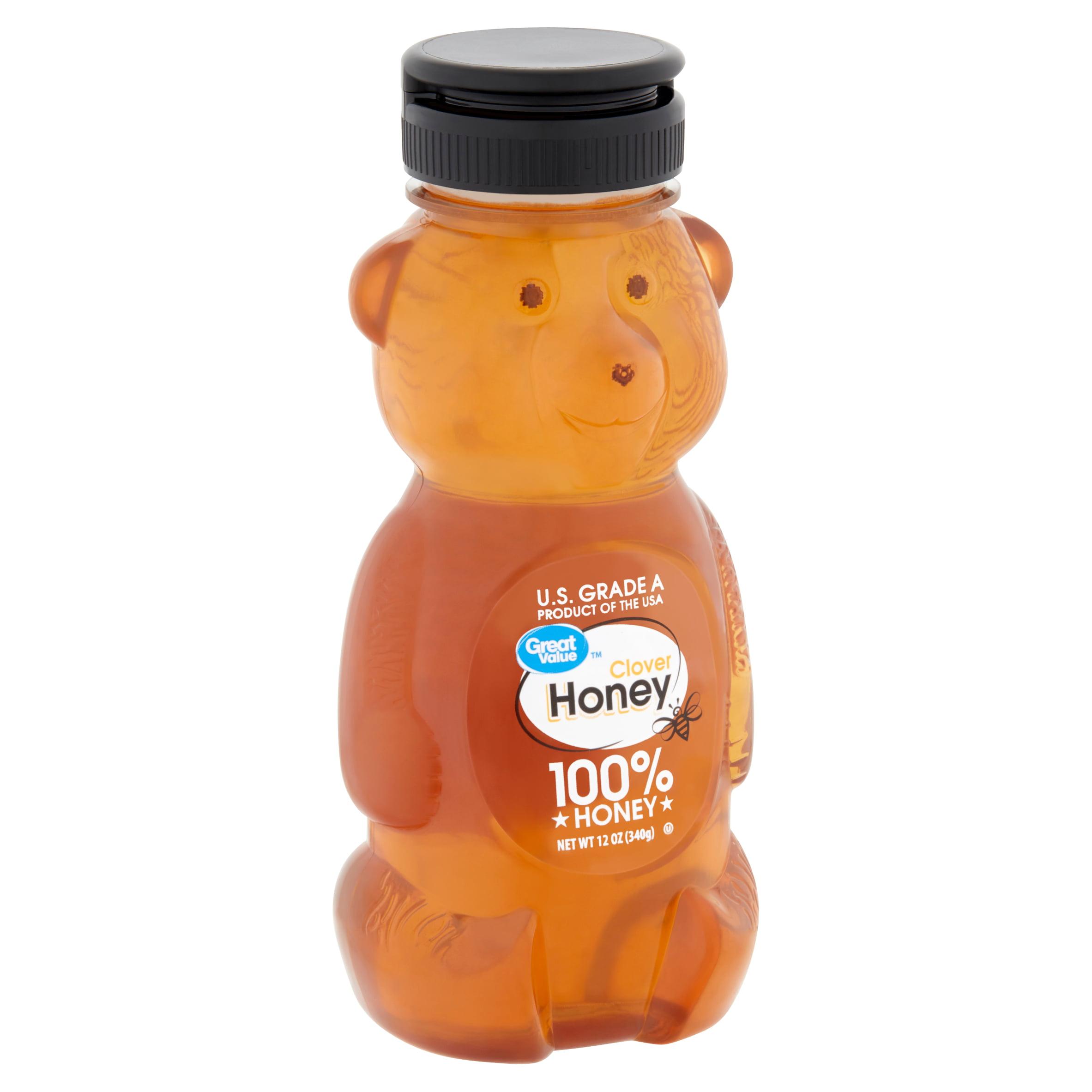 (2 Pack) Great Value Clover Honey, 12 oz